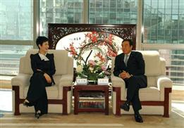 李小琳參加中電國際與招商銀行戰略合作協議簽字儀式